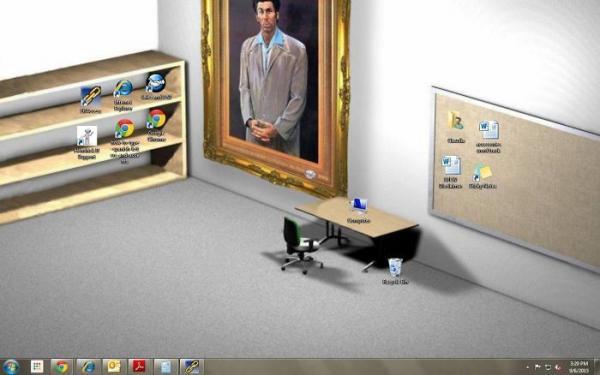Loạt hình nền máy tính chỉ các thiên tài hài hước, EQ cao mới được dùng
