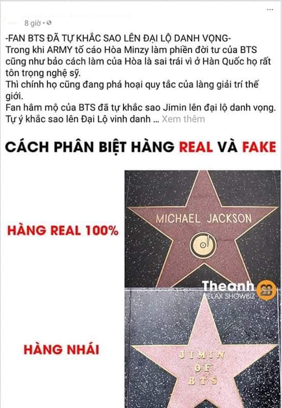 Sự thật đằng sau tin đồn gây tranh cãi về việc fan bỏ 30.000 USD để Jimin có ngôi sao trên Đại Lộ Danh Vọng Hollywood