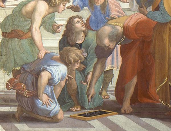 Bích họa 'Trường Athena' - Nơi tụ hội của những nhà triết học vĩ đại nhất thế giới