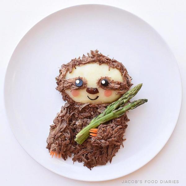 Hoạt hình hóa đồ ăn - cách 'mẹ bỉm sữa' trị tật biếng ăn cho trẻ đầy sáng tạo