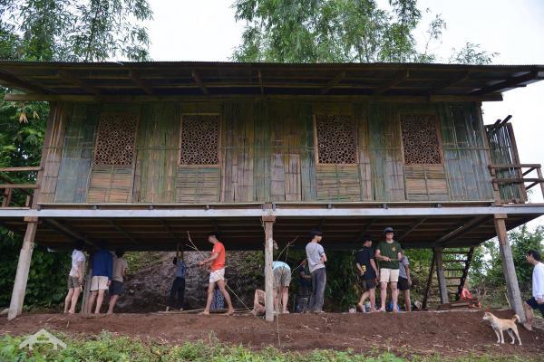 Sinh viên Kiến trúc tại Thái Lan vừa xây ký túc xá 'Những hạt mưa rơi' dành cho học sinh nghèo