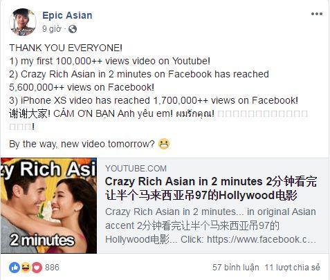 Tóm tắt 'Crazy Rich Asians' trong 2 phút: Cười đau bụng chuyện em gái Trung Hoa lỡ yêu nhầm đại gia châu Á