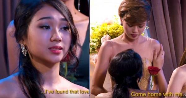 'The Bachelor' bản Việt: Một nữ ứng viên tỏ tình với... nữ ứng viên khác ngay trước mặt nam chính
