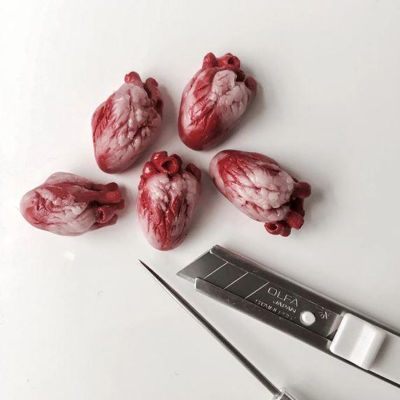 Những món ăn mô phỏng bộ phận cơ thể người, cảnh báo không xem lúc đang ăn