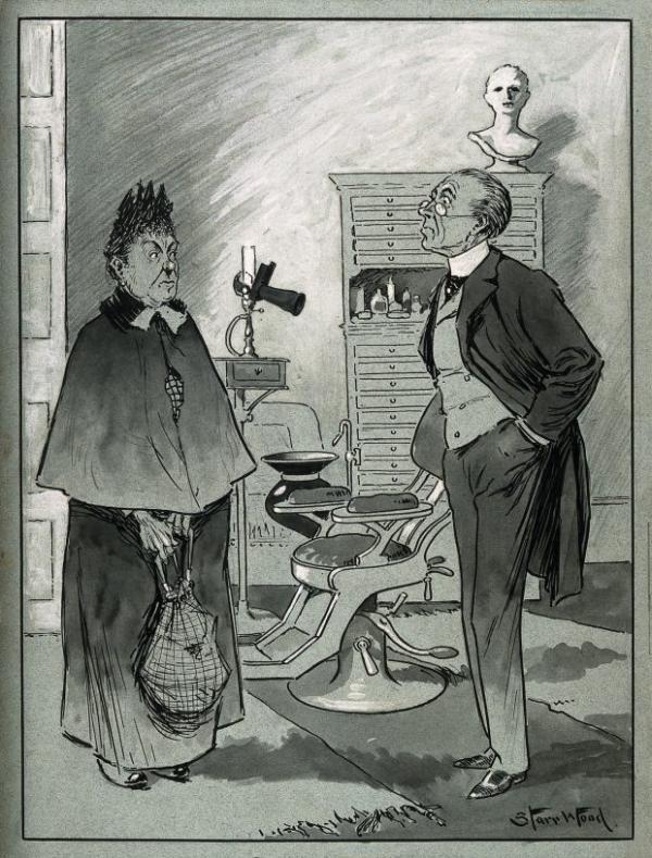 Kỹ thuật làm trắng răng ở thời Victoria: Thô sơ và đầy rủi ro