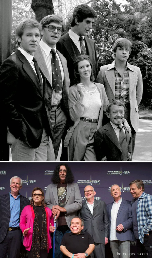 16 lần tái ngộ của dàn diễn viên phim nổi tiếng khiến bạn cảm thấy mình già thật rồi