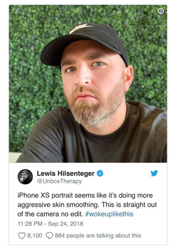 Tính năng mới chiếc iPhone XS mất điểm trong mắt người dùng vì... selfie quá 'mịn'