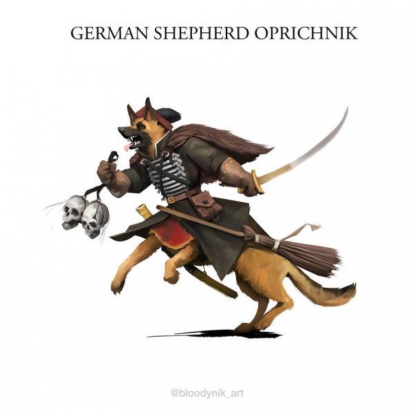 Du lịch châu Âu thời Trung cổ qua hình ảnh... loài chó, bạn đã sẵn sàng chưa?