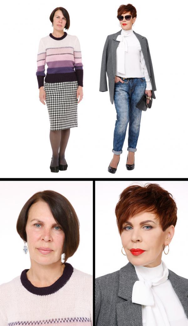 Bộ ảnh là ví dụ cho câu 'Hãy ăn mặc theo công việc mà bạn muốn chứ không phải việc bạn đang làm'