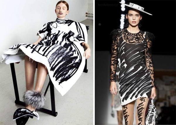 Vừa ra mắt đã vướng lùm xùm, nhà thiết kế trẻ tố Moschino 'nhái' bộ sưu tập của mình