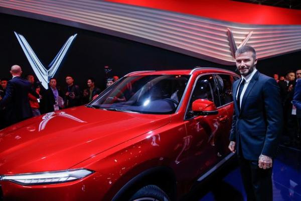 Báo Anh đưa tin: VinFast 'chọn đúng người, sai thời điểm' khi David Beckham mới thoát án phạt chạy xe quá tốc độ