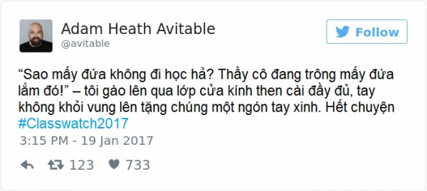 Học sinh đồng loạt trốn học, thầy giáo làm hẳn series dài kỳ trên Twitter tường thuật lại diễn biến vụ việc