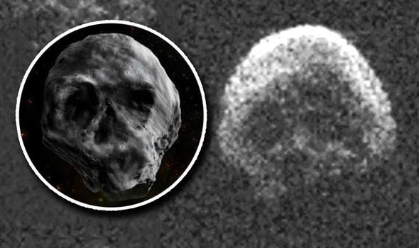 Độc đáo thiên thạch hình đầu lâu sẽ ghé thăm Trái Đất đúng dịp Halloween 2018