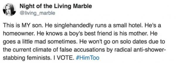 Người mẹ dùng #HimToo nói về con trai mình và cộng đồng mạng biến nó thành meme luôn