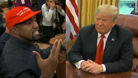 Kanye West để lộ pass điện thoại trong buổi gặp tổng thống Trump, cả thế giới được tràng cười vỡ bụng