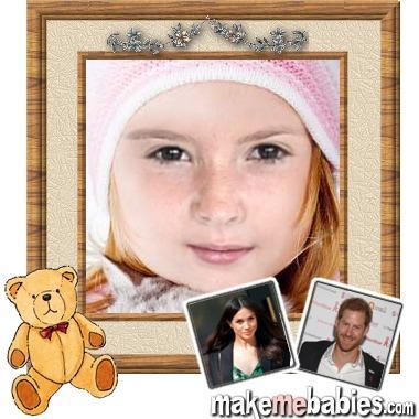 Dự đoán gương mặt con đầu lòng của Hoàng tử Harry và Công nương Meghan