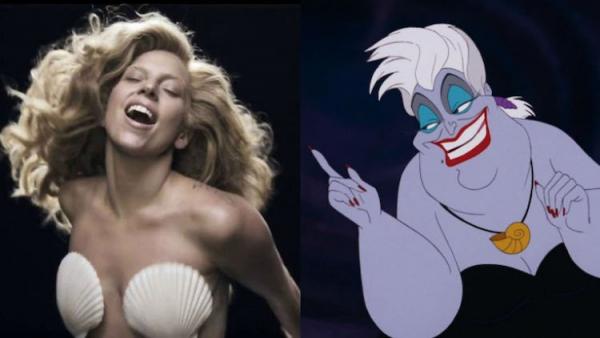 Lady Gaga sẽ vào vai phù thủy bạch tuộc trong live-action 'Nàng Tiên Cá'?
