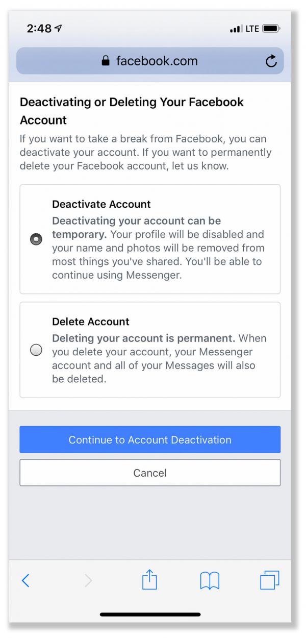 Các bước chuẩn bị cho 'cuộc ly hôn' vĩnh viễn với tài khoản Facebook hoặc Instagram