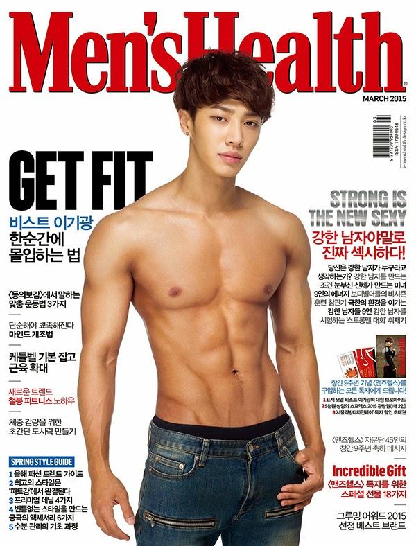 Chị em cẩn thận mất máu khi xem ảnh 17 idol xứ Hàn bán khỏa thân trên trang bìa Men's Health