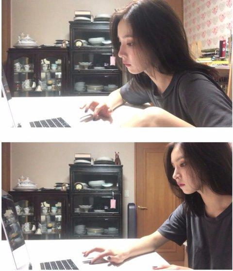 Nổi hứng làm Youtuber, Shin Se Kyung chỉ quay linh tinh nhưng nhan sắc thần thánh đã cứu vớt tất cả