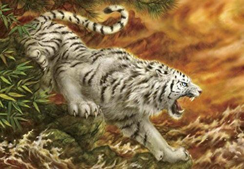 Hình tượng 'Bạch Hổ' trong tâm linh và trong đời thật dưới góc nhìn khoa học