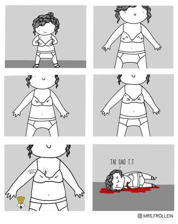 Bộ tranh hài hước: Những khoảnh khắc đời thường mà cô gái nào cũng thấy mình trong đó