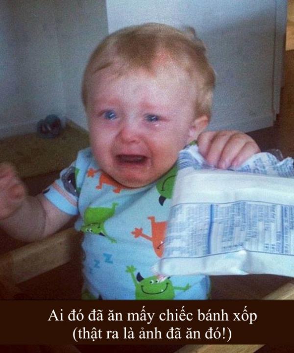 Những lý do 'trời ơi đất hỡi' khiến trẻ con bật khóc (Kì 1)