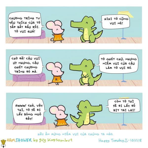 Muôn vàn cách thả thính của động vật qua bộ truyện tranh đáng yêu!