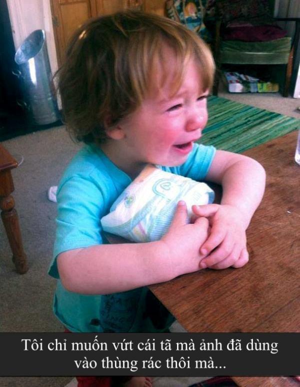 Những lý do 'trời ơi đất hỡi' khiến trẻ con bật khóc (Kì 2)