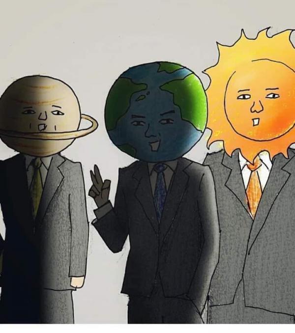 Bộ ảnh hài bá cháy về 'tình tay ba' giữa... Mặt Trời, Mặt Trăng và Trái Đất nhìn từ góc độ khoa học