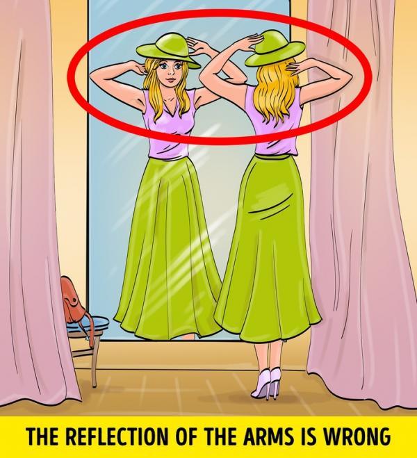 Tìm điểm không logic trong 10 bức tranh - Phương pháp 'luyện mắt' tinh tường như Sherlock Holmes