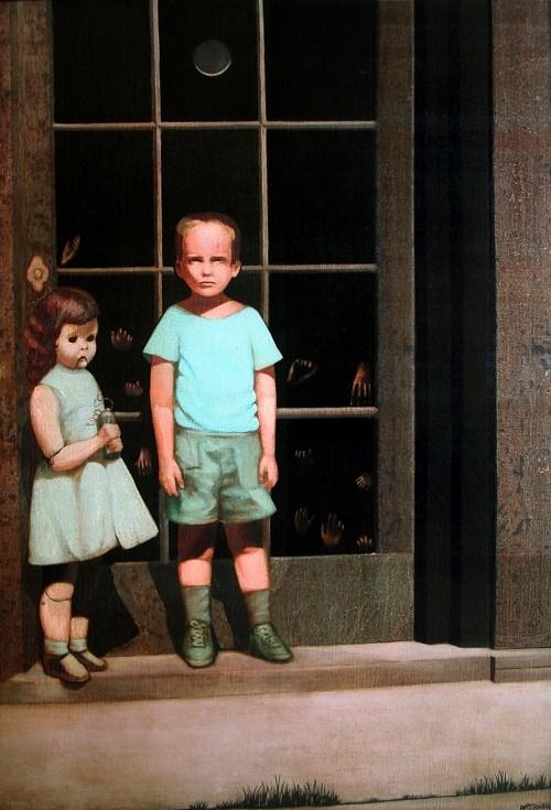 Những câu chuyện đáng sợ xung quanh 8 bức tranh bị ma ám nổi tiếng thế giới (P1)