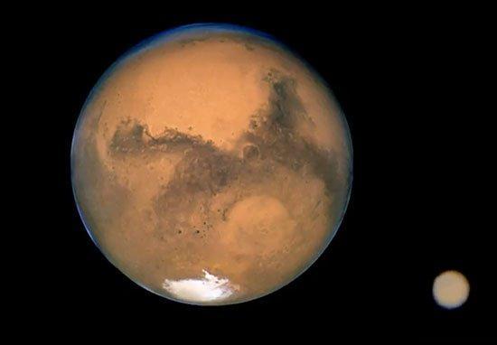 Cột khói 'khó hiểu' cao hơn 1448 km bốc lên từ sao Hỏa