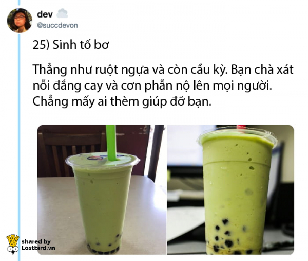 Chị nhân viên bán hàng dùng trà sữa bói tính cách cho người mua ai ngờ 'đắt khách' ầm ầm trên Twitter