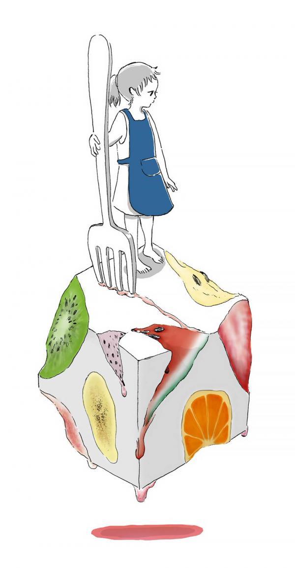 Bộ tranh đồ ăn của họa sĩ Nhật Bản dễ thương như anime khiến người ta chỉ muốn xem mãi