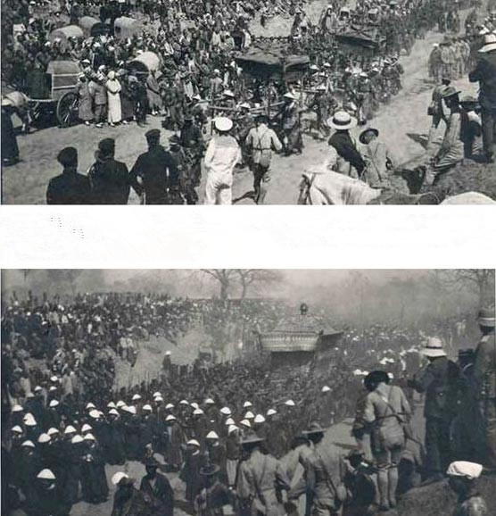 Những bức hình hiếm hoi trong tang lễ xa hoa mà Từ Hi Thái Hậu tự chuẩn bị cho mình