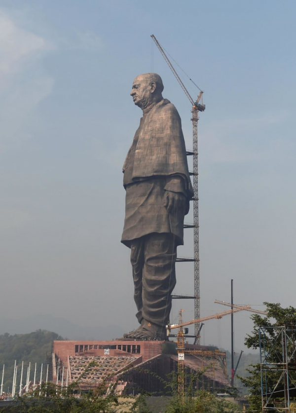 Tượng nhà chính trị Ấn Độ sẽ cao gấp đôi tượng Nữ thần tự do của Mỹ