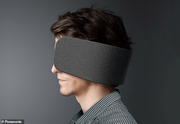 Panasonic phát minh thiết bị bịt tai, che mắt giúp làm việc hiệu quả hơn trong văn phòng