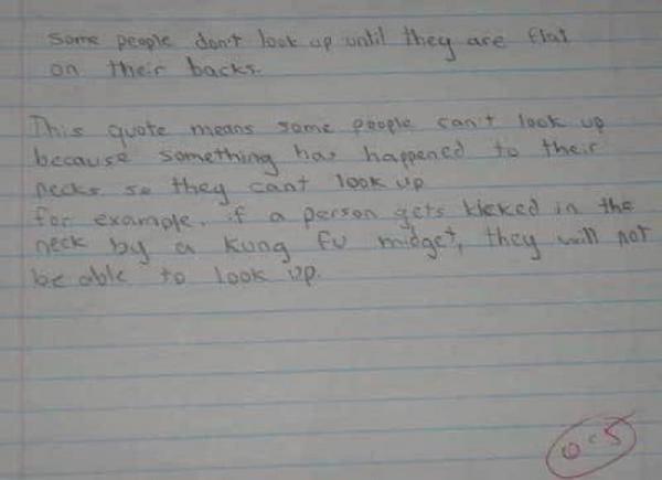 10 câu trả lời xứng đáng IQ 2000 của các học sinh khi gặp đề kiểm tra khó