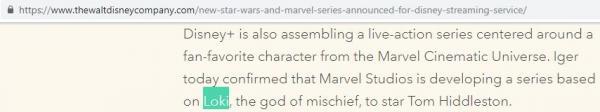 Sẽ có phim riêng cho nhân vật Loki trên kênh truyền hình mới của Disney?