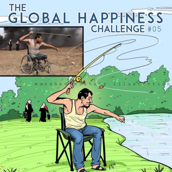 Họa sĩ dùng nét vẽ mang lại cái kết hạnh phúc cho những bi kịch chiến tranh
