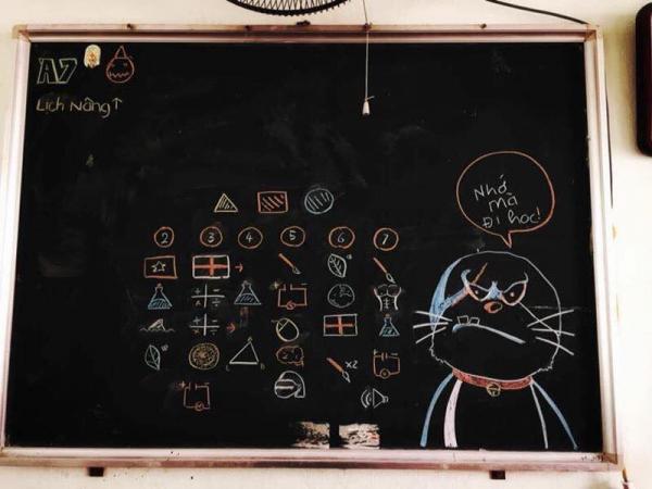 'Chết cười' với sự sáng tạo không ngừng của học sinh ngày nay khi điểm danh sĩ số lớp lên bảng