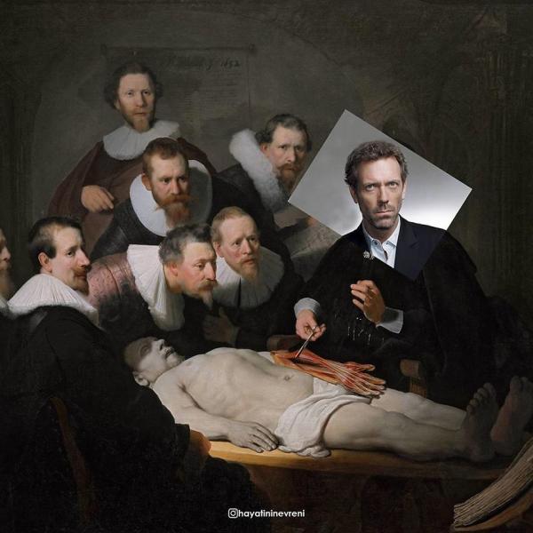 Hú hồn với khoảnh khắc các nhân vật hội họa nổi tiếng 'xuyên không' đến thời hiện đại