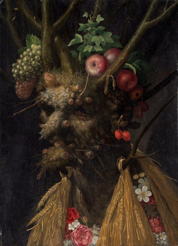 Thiên nhiên trong những kiệt tác hội họa của thiên tài kì dị Giuseppe Arcimboldo