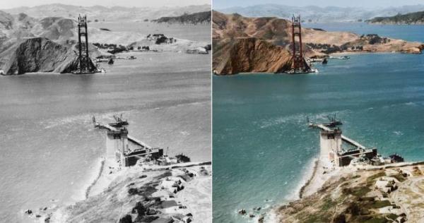 Lịch sử như hiện ra trước mắt với những bức ảnh trắng đen được phục chế màu