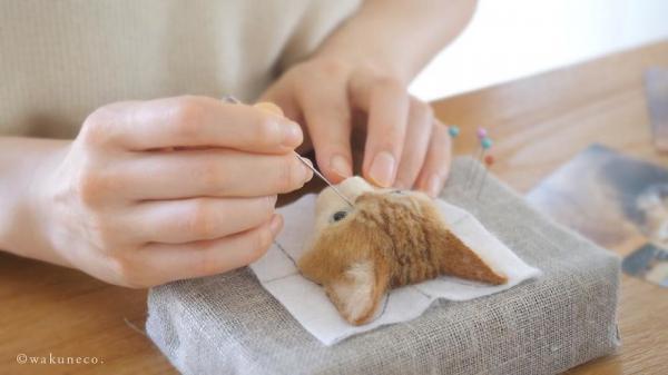 Nghệ sĩ Nhật Bản làm chân dung mèo 3D bằng sợi len và vải nỉ khiến nhiều người kinh ngạc vì quá thật