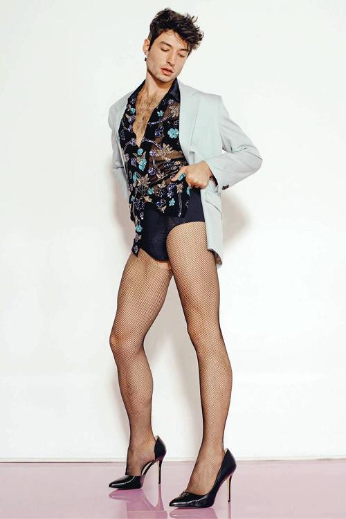 Ezra Miller trên tạp chí 'Playboy' - Sự kiện đầy ý nghĩa đối với cộng đồng LGBTQ+