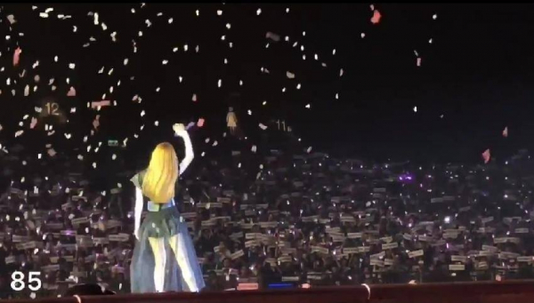 Rò rỉ bức ảnh concert của Taeyeon tại Hongkong có 'ma' khiến dân tình hoang mang?