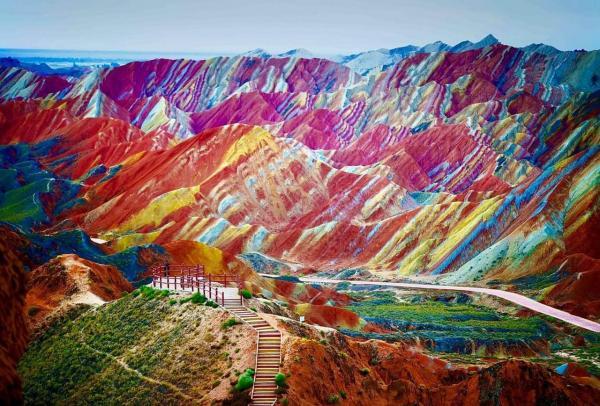 20 địa điểm như hút hết mọi màu sắc đẹp nhất trên thế gian để trở thành chốn tiên cảnh của cõi trần
