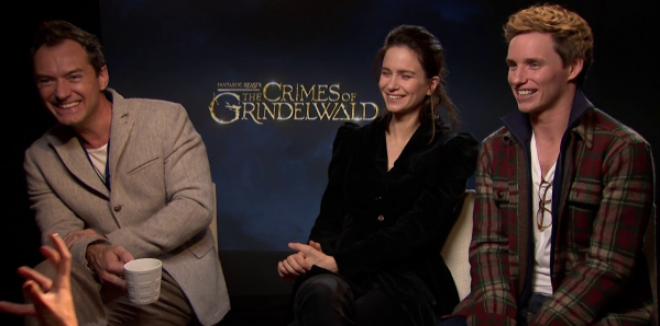 Thông qua 'Fantastic Beasts', Jude Law nói thế giới đã sẵn sàng để đón nhận một Dumbledore đồng tính